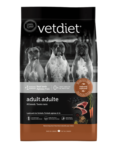 Picture of Vetdiet Adult Lamb & Rice Formula - 6 lb.