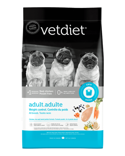 Picture of Vetdiet Adult Weight Control Chicken, Rice, and Sweet Potato Formula - 15 lb.