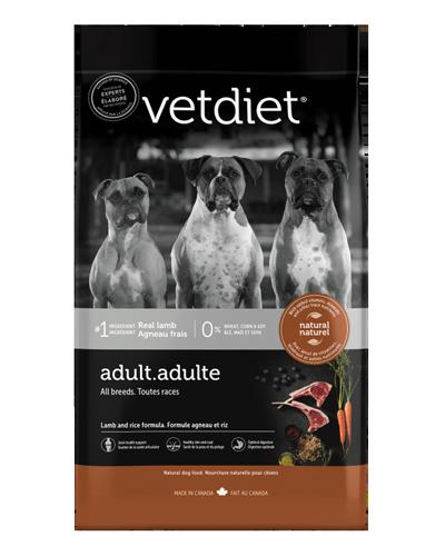 Picture of Vetdiet Adult Lamb & Rice Formula - 26 lb.