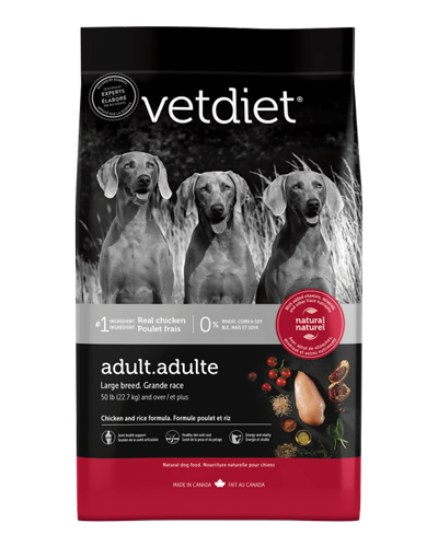 Picture of Vetdiet Adult Large Breed Chicken & Rice Formula - 30 lb.