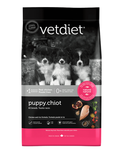 Picture of Vetdiet Puppy Chicken & Rice Formula - 6 lb.