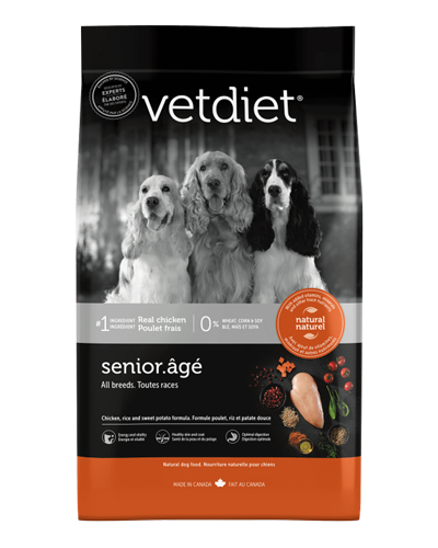 Picture of Vetdiet Senior Chicken, Rice, & Potato Formula - 15 lb.