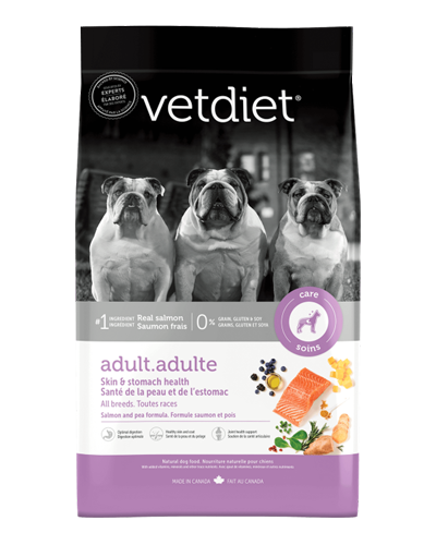 Picture of Vetdiet Adult Skin & Stomach Health Salmon & Pea Formula - 6 lb.