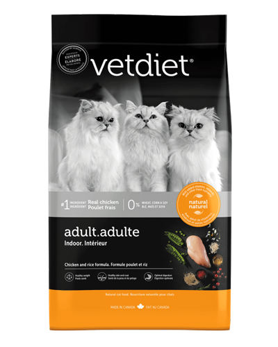 Picture of Vetdiet Adult Indoor Chicken and Rice Formula - 15 lb.