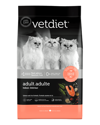 Picture of Vetdiet Adult Indoor Salmon and Rice Formula - 7 lb.