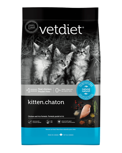 Picture of Vetdiet Kitten Chicken & Rice Formula - 3.5 lb.