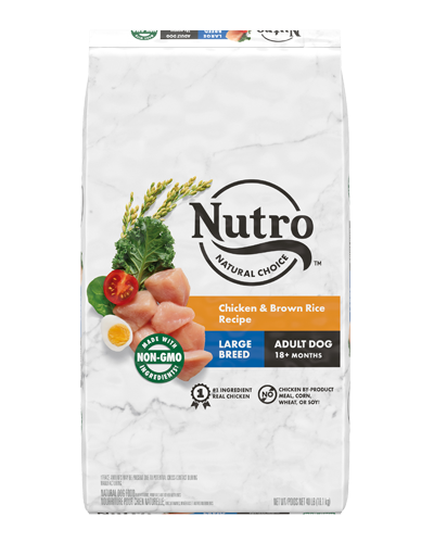 Picture of Nutro Wholesome Essentials Large Breed Farm-Raised Chicken, Brown Rice, and Sweet Potato - 40 lb.