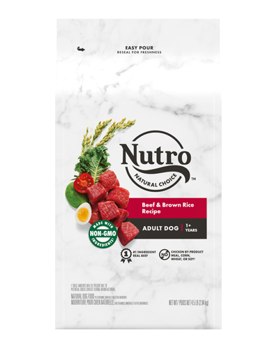Picture of Nutro Natural Choice Beef & Brown Rice - 4.5 lb.