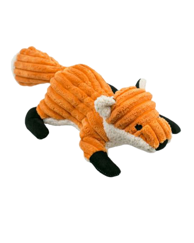 """Picture of Tall Tails Plush Fox with Squeaker - 12"""""""