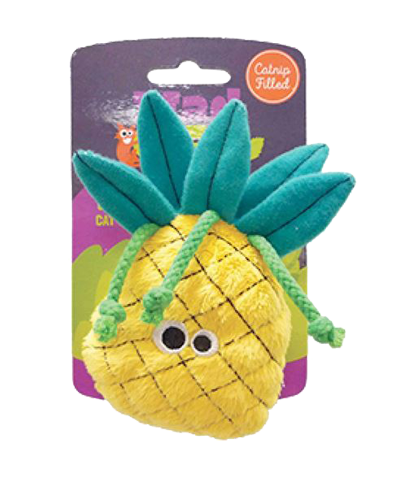 Picture of Mad Cat Purrfect Pineapple Crazy for Catnip Cat Toy