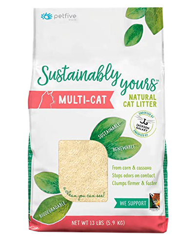 Picture of Sustainably Yours Multi-Cat Litter - 13 lbs
