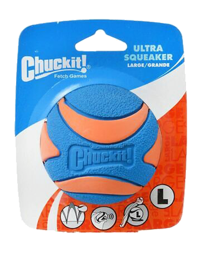 Picture of ChuckIt! Ultra Squeaker High Bounce Ball
