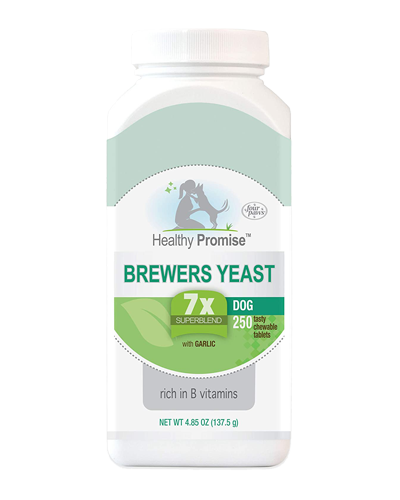Picture of Four Paws Healthy Promise Brewers Yeast with Garlic Tablets - 250 Ct