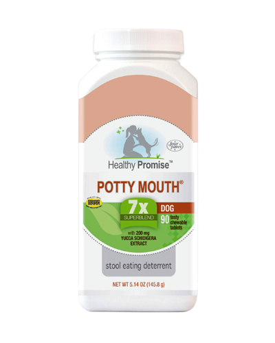 Picture of Four Paws Healthy Promise Potty Mouth Coprophagia Tablets - 90 Count