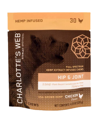 Picture of Charlotte's Web Hip & Joint Chicken Flavor CBD Chews - 30 Chews