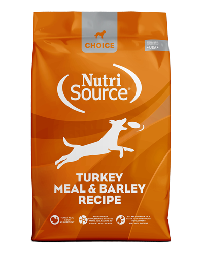 Picture of Nutrisource Choice Turkey Meal & Barley Recipe - 30 lbs