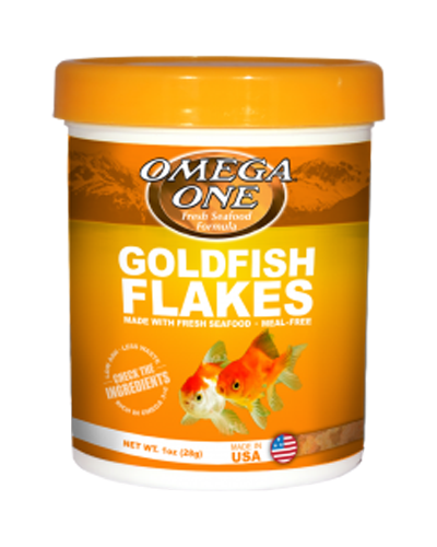 Picture of Omega One Goldfish Flakes - .42 OZ