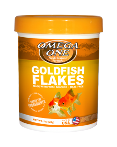 Picture of Omega One Goldfish Flakes - 1 oz