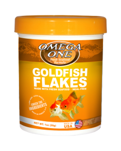 Picture of Omega One Goldfish Flakes - 2.2 oz