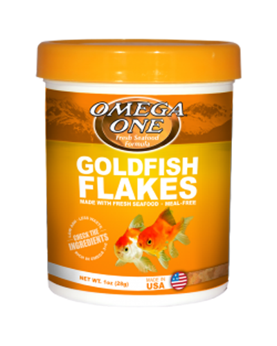 Picture of Omega One Goldfish Flakes - 5.3 oz