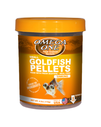 Picture of Omega One Small Sinking Goldfish Pellets - 4.2 oz