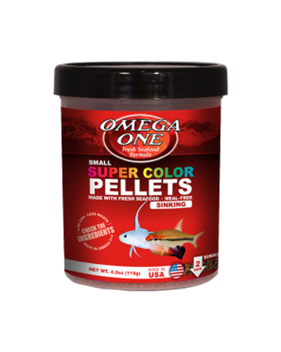 Picture of Omega One Super Color Pellets Sinking - 4.2 oz