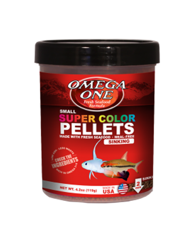 Picture of Omega One Super Color Pellets Sinking - 8 oz