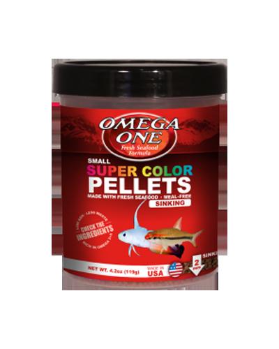 Picture of Omega One Super Color Pellets Sinking - 16.25 oz