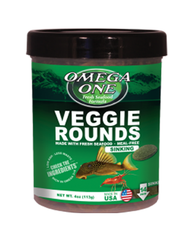 Picture of Omega One Veggie Rounds - 8 oz