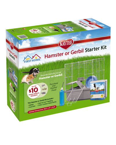 Picture of Kaytee My First Home Hamster and Gerbil Starter Kit