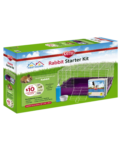 Picture of Kaytee My First Home Rabbit Sarter Kit