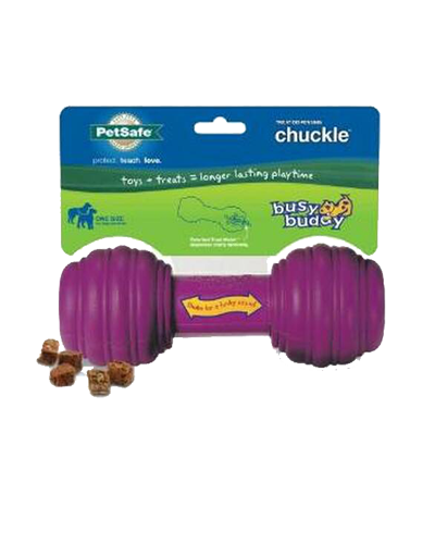 Picture of Petsafe Busy Buddy Chuckle Treat Dispensing Toy - Medium / Large