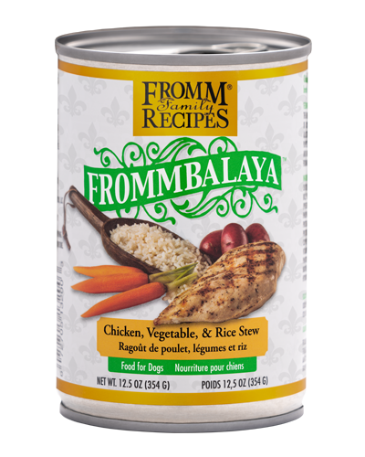Picture of Fromm Fommbalaya Chicken, Vegetable & Rice Stew Wet Dog Food - 12.5 oz.