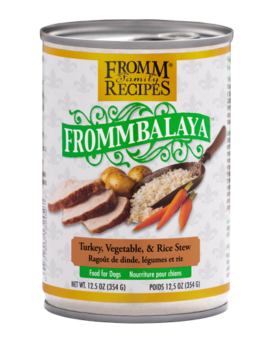 Picture of Fromm Fommbalaya Turkey, Vegetable & Rice Stew Wet Dog Food - 12.5 oz.