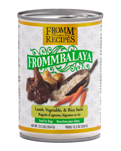 Picture of Fromm Fommbalaya Lamb, Vegetable & Rice Stew Wet Dog Food - 12.5 oz.