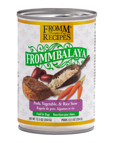 Picture of Fromm Fommbalaya Pork, Vegetable & Rice Stew Wet Dog Food - 12.5 oz.