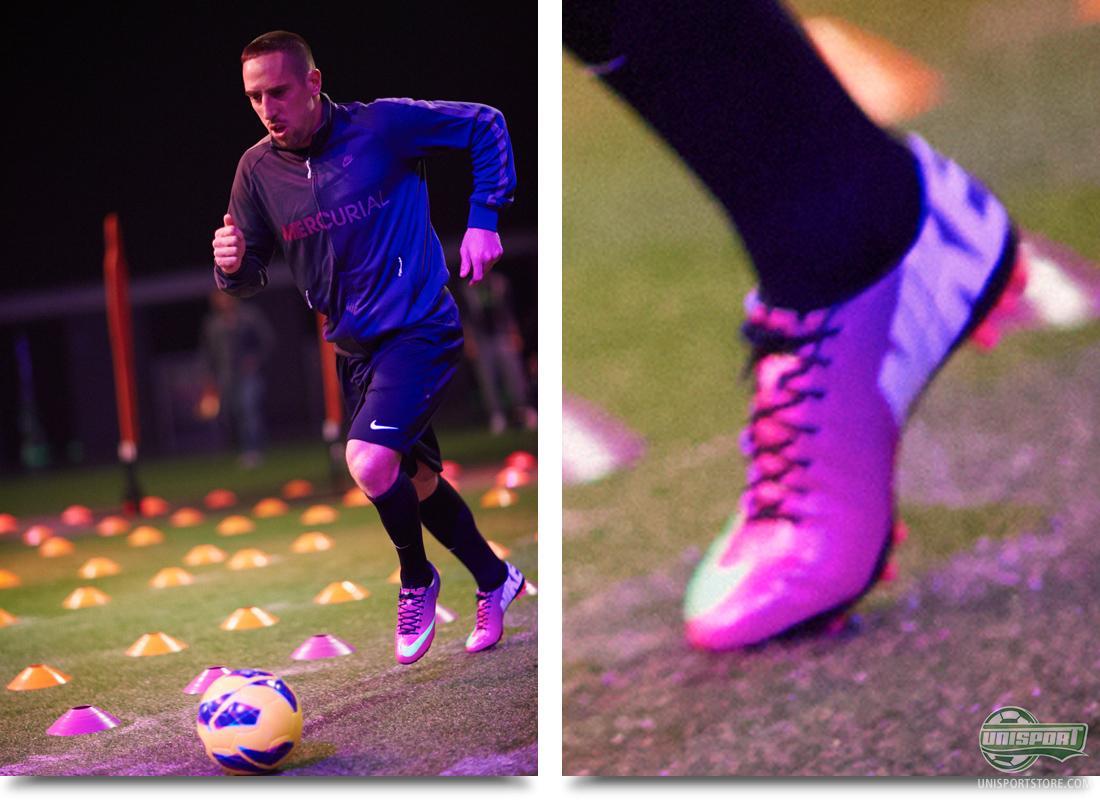 fertilizante administración Emperador  Nike Mercurial Vapor IX Munich launch - with Ribery and Shaqiri