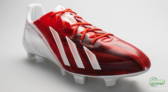 Adidas F50 Adizero Red/White Messi