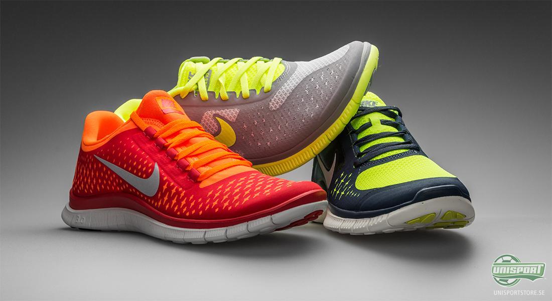 I denna nyhet fokuserar vi på Nike Free 3.0 till 5.0 som placerar sig i  mitten av dämpningsskalan. Du ska inte förvänta dig att dessa erbjuder  dämpning i ... 189cb1c3cc159