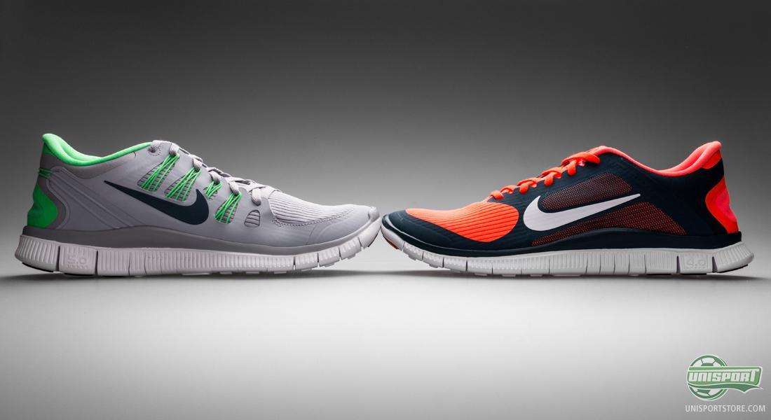 best website 470e2 04b1e Eftersom skon i grund och botten är avsedd för löpning så har Nike  utvecklat flera modeller för olika löpstilar. 3.0, 4.0 och 5.0 anger var på  Free-skalan ...