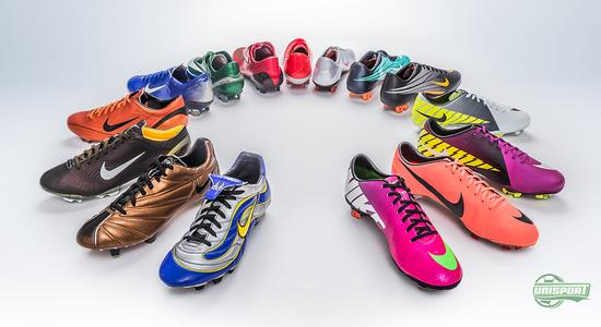 hot sale online 15c0e f08b0 15 years of the Nike Mercurial-collection, which has given us wondrous  boot, upon wondrous boot, with iconic coloursways, superstar players and  limited ...
