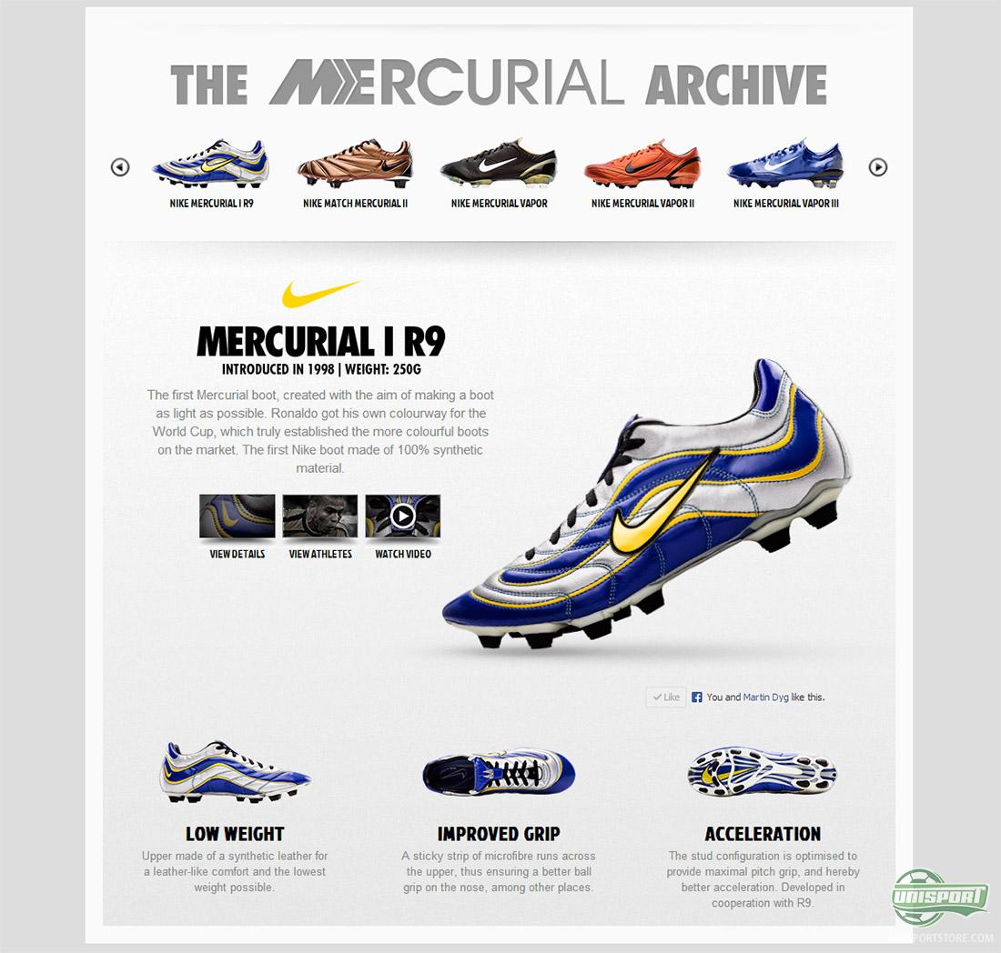 half off dceae 79651 The crowning jewel must however be the newest addition, the Nike Mercurial  Vapor XV SE 15th Anniversary Edition, it bases itself on El Fenómenos  original ...