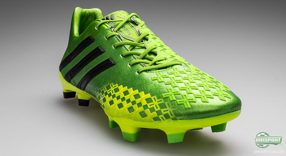 outlet store cbecc d10ee Adidas Predator LZ II Ray Green/Electricity/Black - new ...