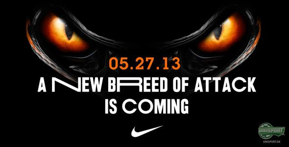 "Nike teaser for ""A new breed of attack"""