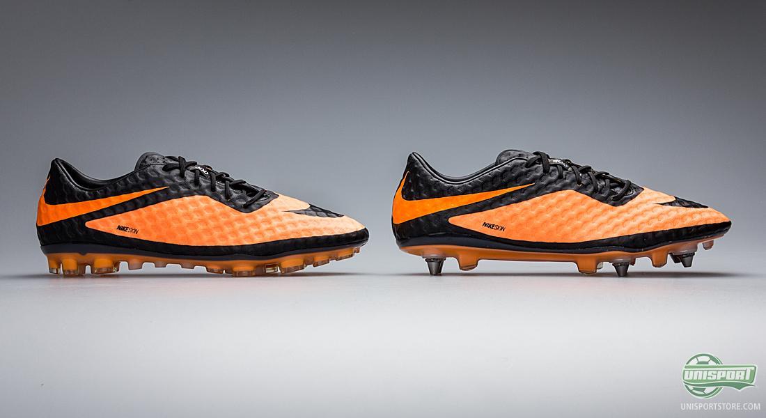 Nike Hypervenom Phantom BlackBright Citrus AG and SG Pro