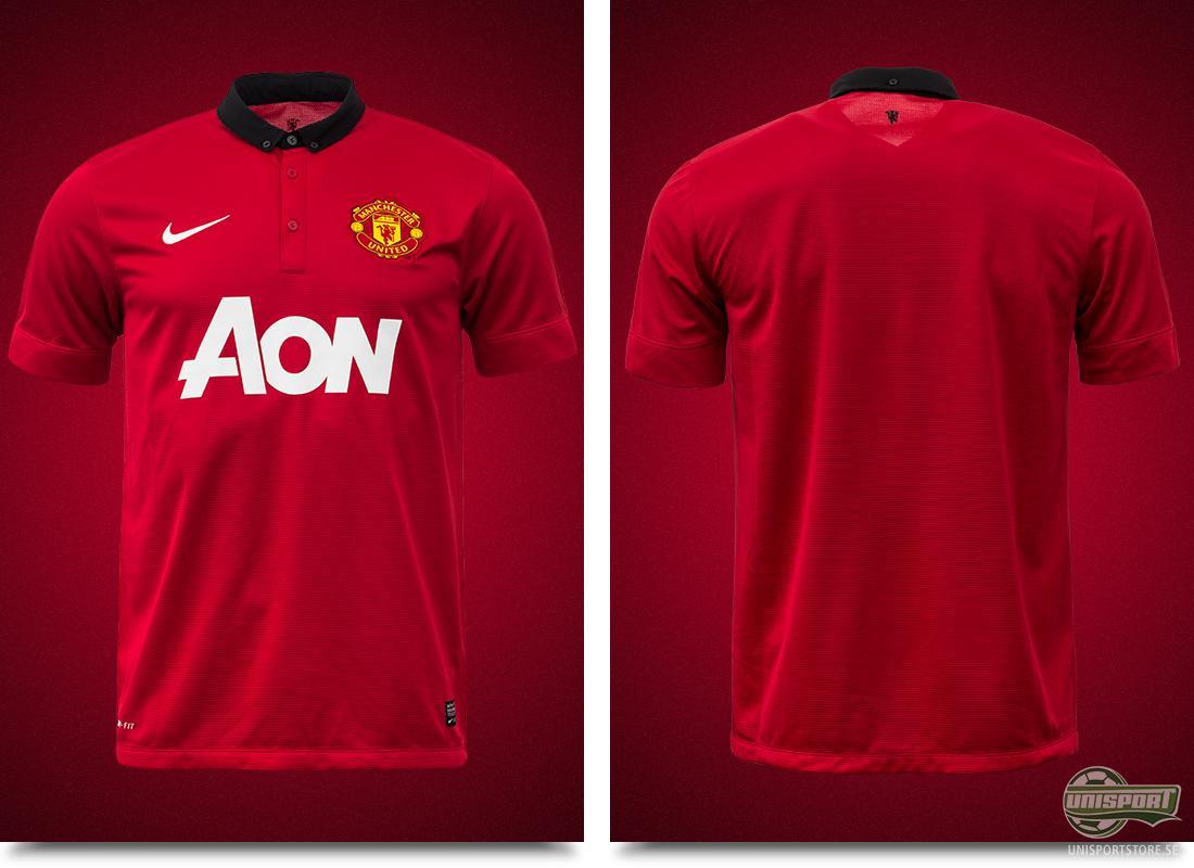 Manchester United presenterar sin nya hemmatröja