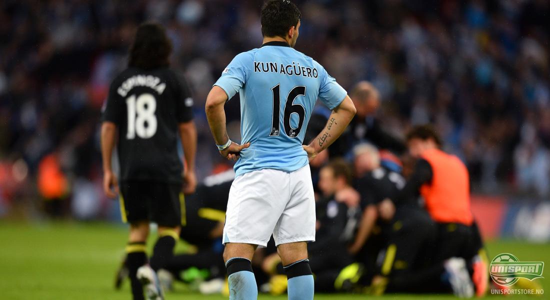 0028aa09 Sergio 'Kun' Agüero – 16 (Manchester City) Hvis det er én spiller Manchester  United-fansen har mareritt om en gang i mellom, så er det nok mest  sannsynlig ...