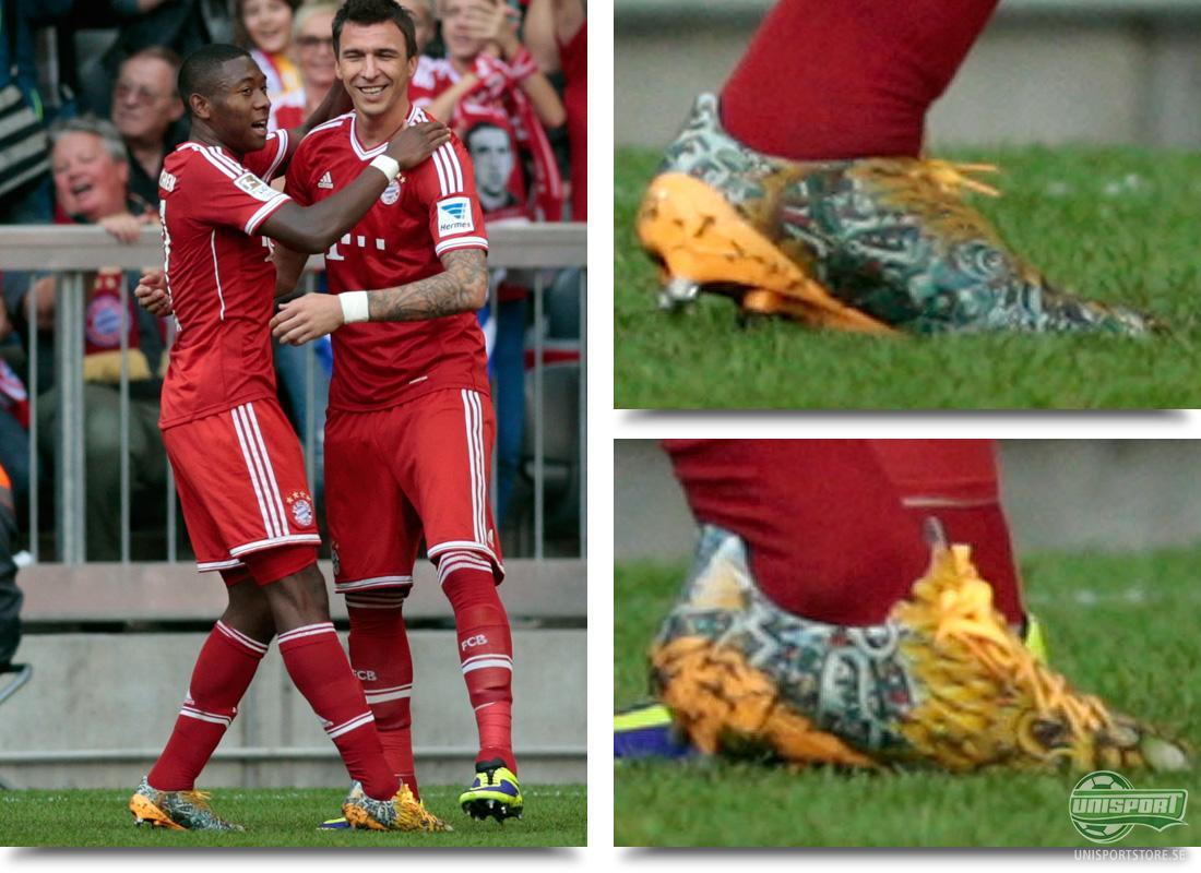 David Alaba (Bayern München) Adidas F50 Adizero Yamamoto Bayern Münchens  österrikiske stjärna David Alaba var en av spelarna som i helgen valde att  ha de ... 21a7f1e941019