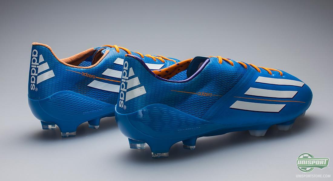 d905c9cba3992 Adidas F50 Adizero Blue football boots - faster than ever