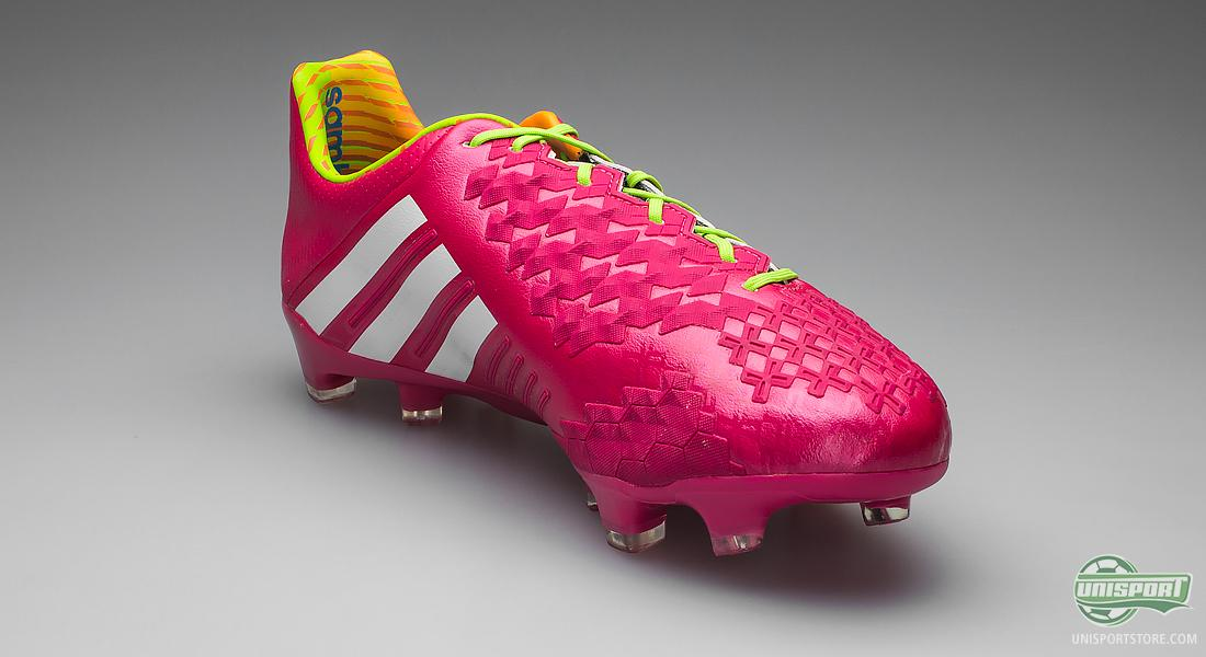 new styles 94b82 12dbb Adidas Predator LZ II Pink - Full control with a wild colour